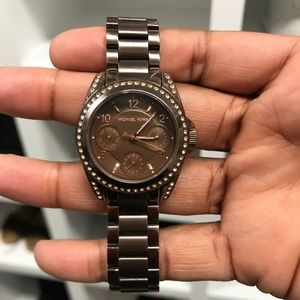🔥Michael Kors Champaign Brown Watch🔥